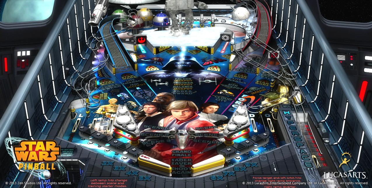 [Test] Star Wars Pinball 3D
