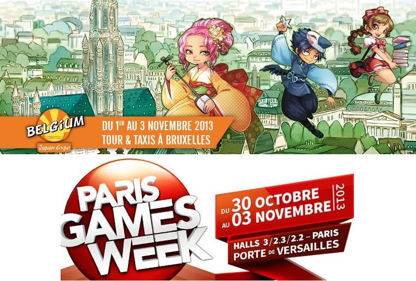 Nintendo-Town Cast 4 – Paris Games Week et la Japan-Expo Belgium