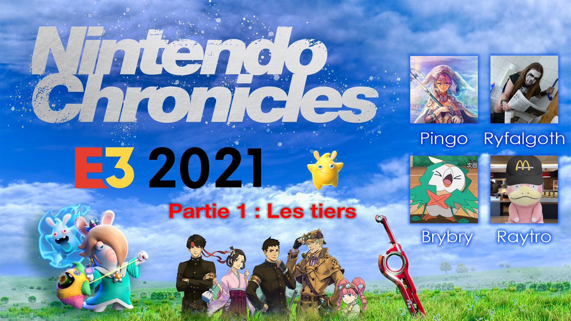 Nintendo Chronicles E3 2021 : le Grand retour ! – Partie 1 : les tiers