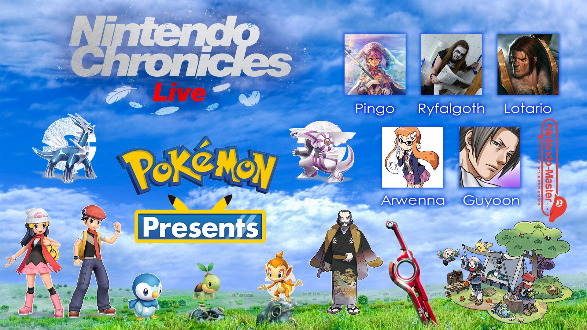 Nintendo Chronicles Live 1 : Le Pokémon Present Diamant/Perle et Arceus